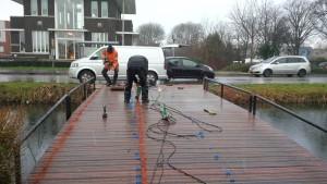 Bruggen brugdekrenovatie-bleiswijk