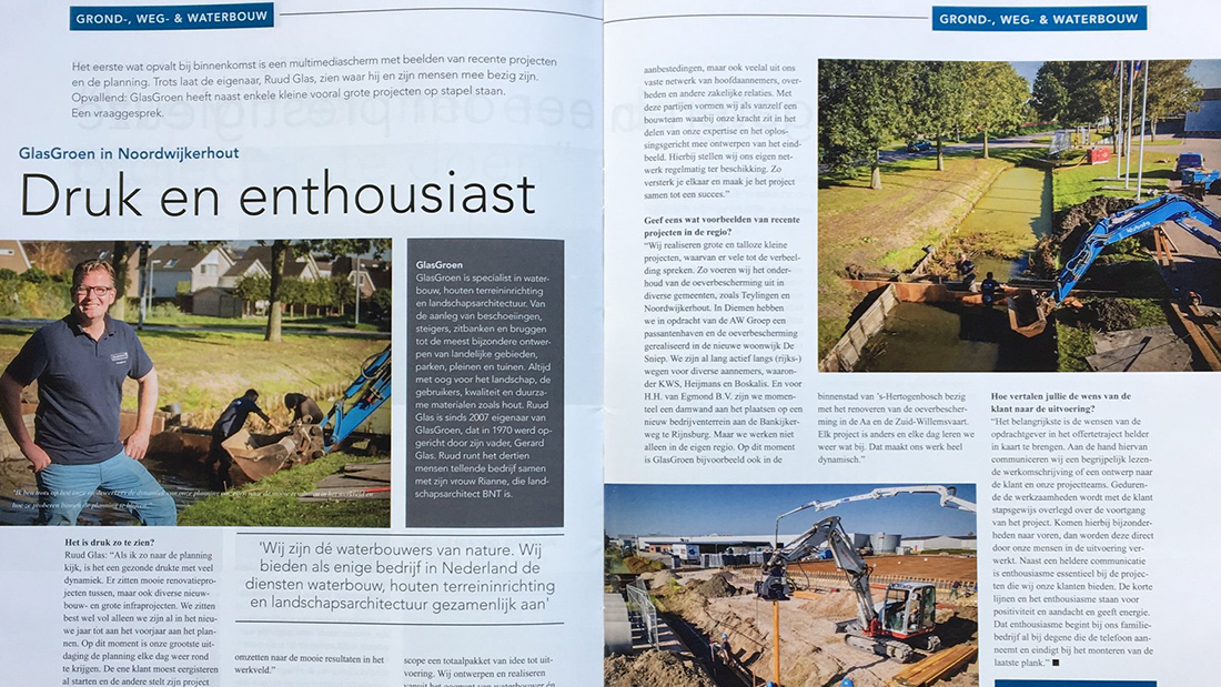 Rijnstreek Business Interview GlasGroen