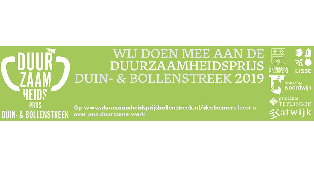 Duurzaamheidsprijs Duin- & Bollenstreek