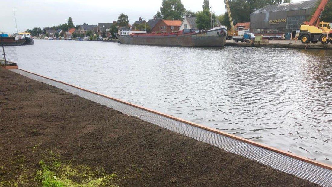 Nieuwe steiger voor Kanovereniging Lisse